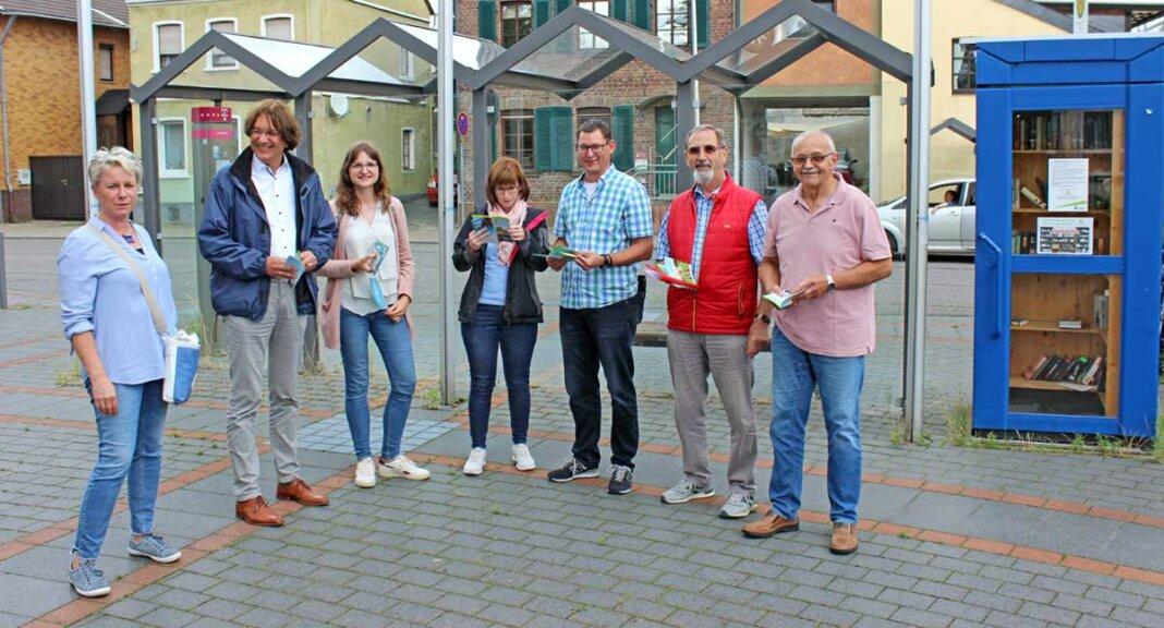 v.l.n.r: Ruth Doemen, Marc Bors, Verena Weyl, Susanne Tempel, Axel Blumenstein, Harry Sander, Günther Unkelbach