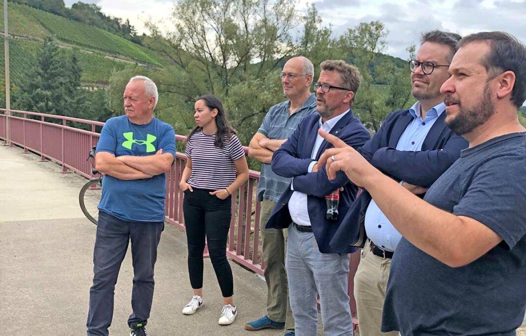 Tobias Lindner, Carl-Bernhard von Heusinger und Martin Schmitt mit GRÜNEN aus Bad Neuenahr-Ahrweiler